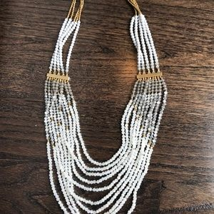 Nakamol Crystal Beaded Statement Necklace
